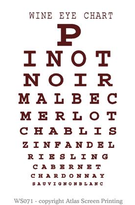 Wine Eye Chart 2
