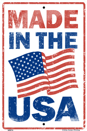 Made in the USA Sign
