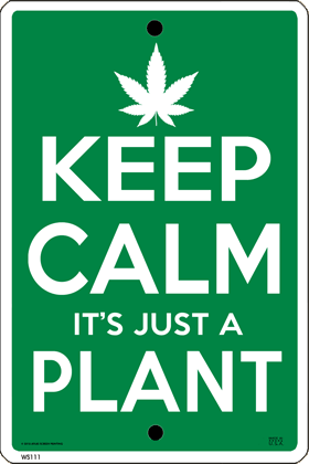 Keep Calm (Pot) Plant