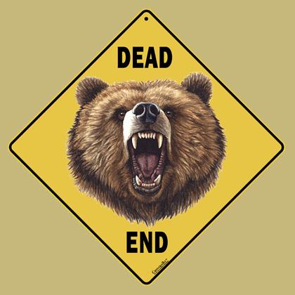 Bear Dead End - Front