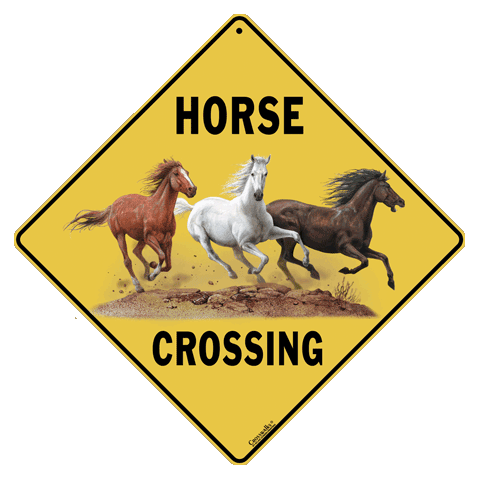Horse Crossing - Front