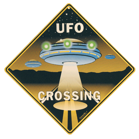 UFO Crossing - Front