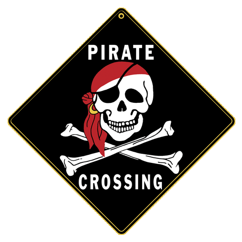 Pirate Crossing - Front