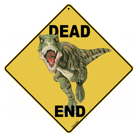 Dino Dead End - Front