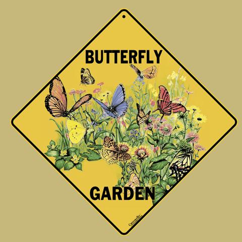 Butterfly Garden Sign