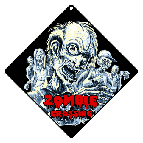 Zombie Crossing - Front