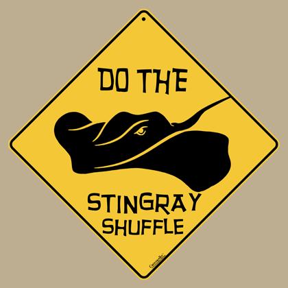 Stingray Shuffle Sign