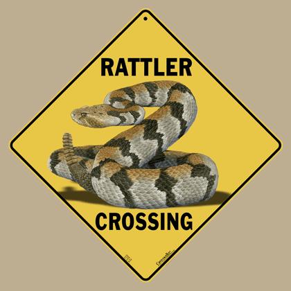 Rattler Crossing Sign