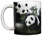Giant Pandas Ceramic Mug - Front test8