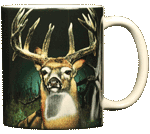 Buck Fever Ceramic Mug - Back