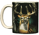 Buck Fever Ceramic Mug - Front