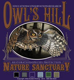 Screech Owl Custom Template - Purple