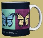 Unseen Beauty Ceramic Mug - Back