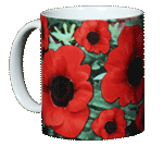 Poppies Ceramic Mug
