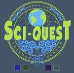 Science Gears Template - Blue Dusk