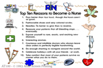 "Top Ten Nurse 2"" X 3"" Magnet"