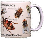 Forensic Entomology Ceramic Mug - Back