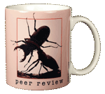 Peer Review Ceramic Mug - Back