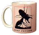 Peer Review Ceramic Mug - Front