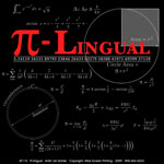 PI-Lingual Adult T-shirt - Back