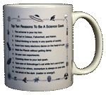 Top Ten Geek Ceramic Mug - Back