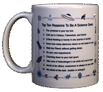 Top Ten Geek Ceramic Mug