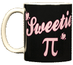 Sweetie Pi Ceramic Mug - Back