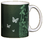 Green Is Beautiful Ceramic Mug - Back