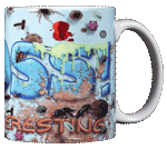 Gross! Ceramic Mug - Back