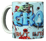 Gross! Ceramic Mug - Front