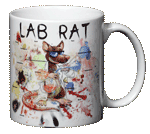 Lab Rat Ceramic Mug - Back