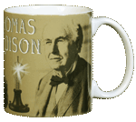 Edison Ceramic Mug - Back