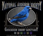 Indigo Bunting Custom Template - Black