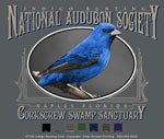 Indigo Bunting Custom Template - Charcoal