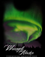 Aurora Northern Lights Template