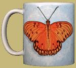Gulf Fritillary Ceramic Mug