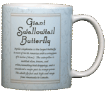 Tiger Swallowtail Ceramic Mug - Back