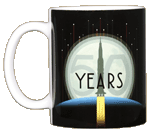 Apollo 11 Rocket 50th Ceramic Mug