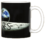 Apollo 11 Earthrise 50th Ceramic Mug - Back