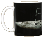 Apollo 11 Earthrise 50th Ceramic Mug
