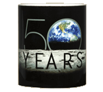 Apollo 11 Earthrise 50th Ceramic Mug - Middle