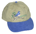 Bluebird Embroidered Cap