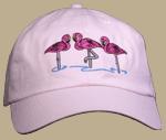 Flamingos Embroidered Cap test8
