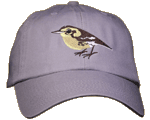 Warbler Embroidered Cap
