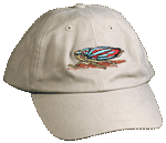 Leaf Hopper Embroidered Cap - Khaki Unstructured Cap