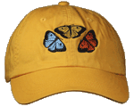Butterfly Fun Youth Embroidered Cap