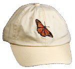 Monarch Embroidered Cap - Butter Yellow Unstructured Cap