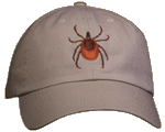 Wood Tick Embroidered Cap test8