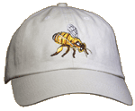 Honey Bee (Side View) Embroidered Cap test8