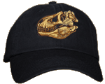 T-Rex Skull Embroidered Cap